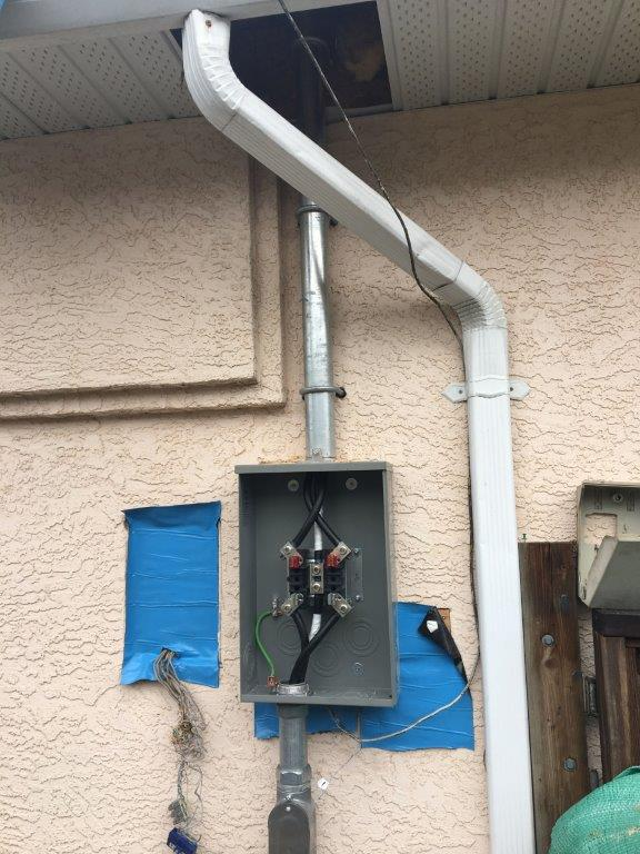 200A electrical upgrade