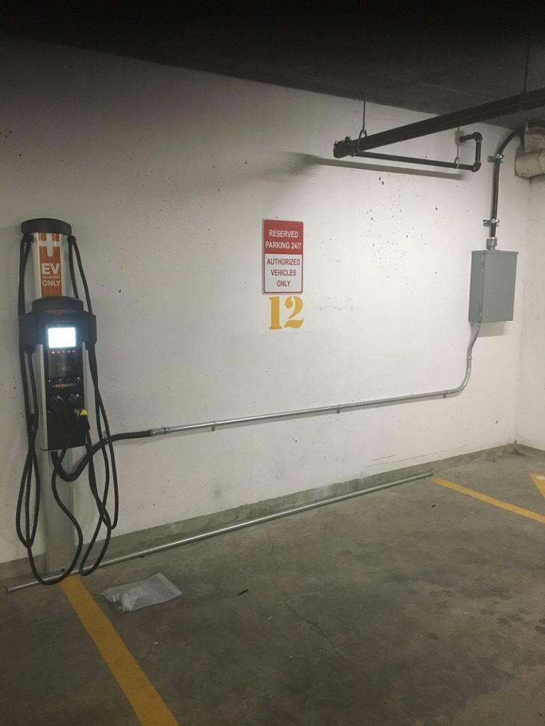 Electrical Car Charger Install