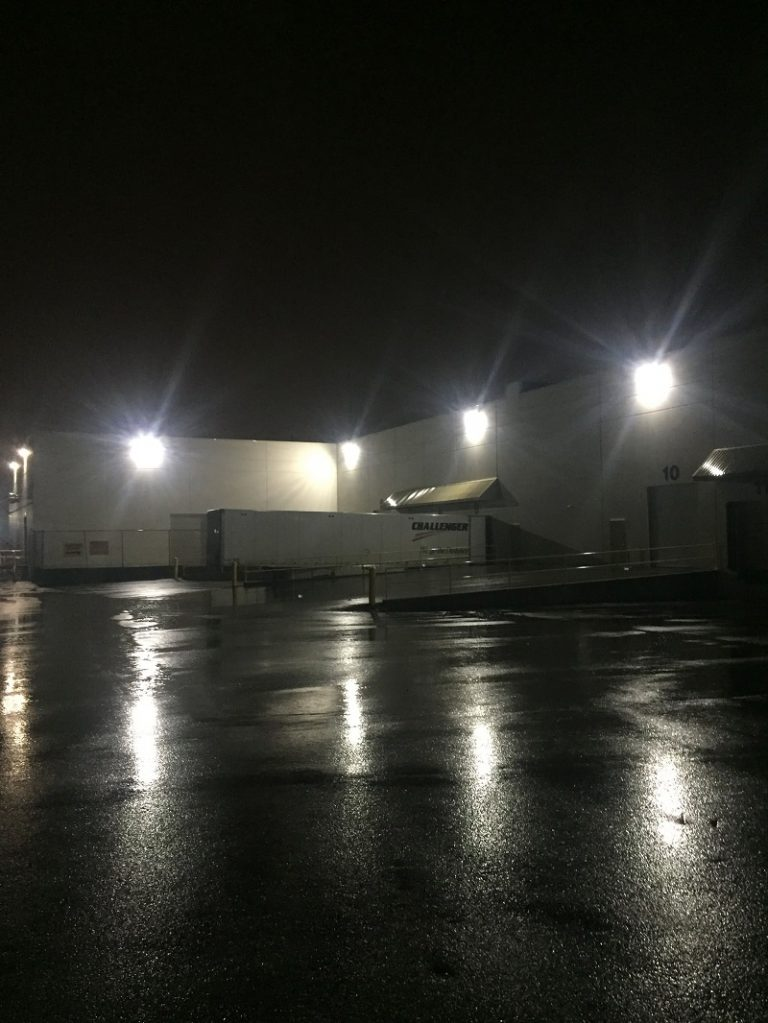 exterior led lighting upgrade