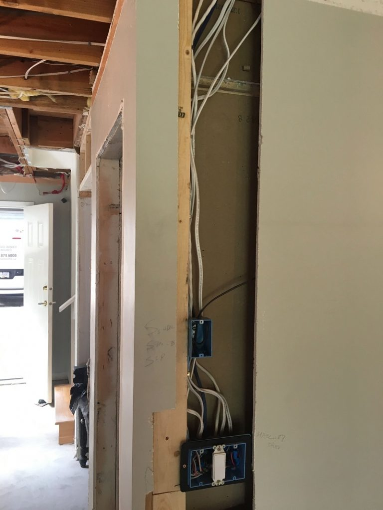 full townhouse electrical renovation
