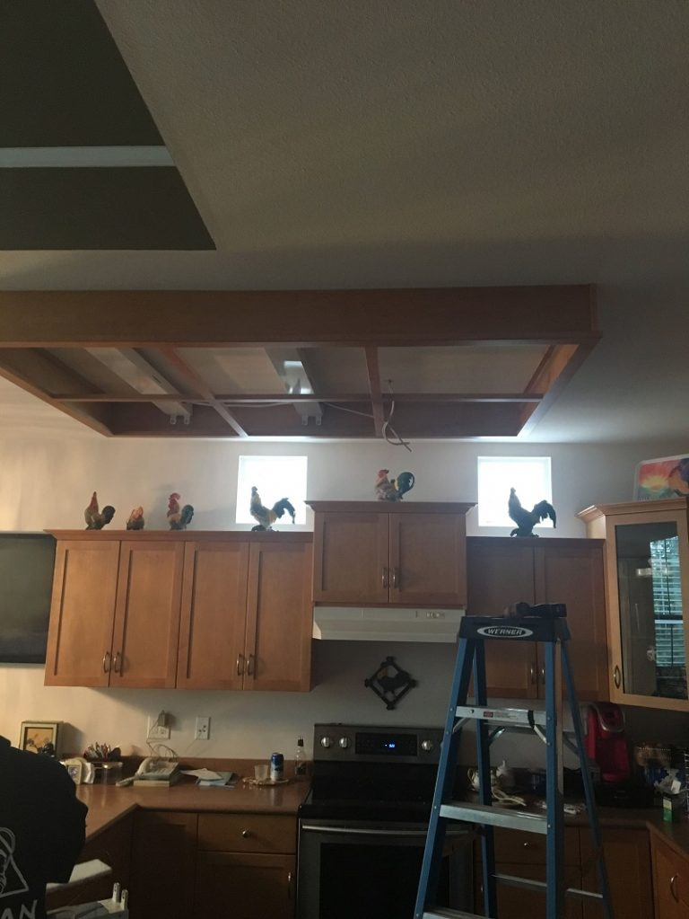 led pot lights install