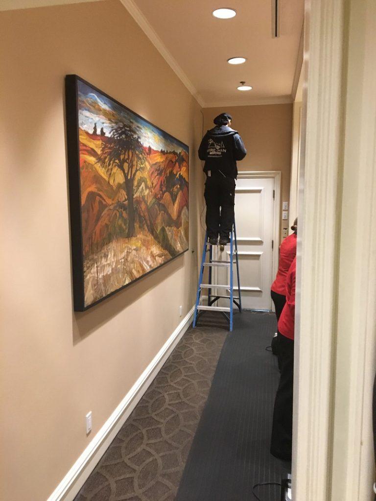 surveillance wiring service