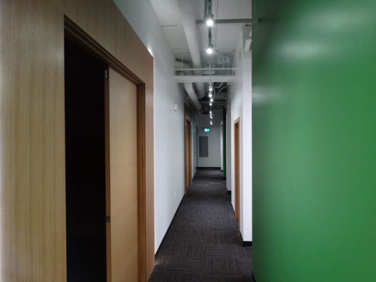 tenant improvement - hall