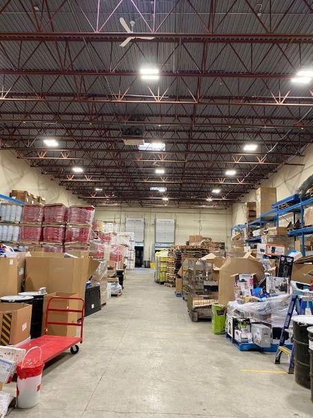 warehouse led update