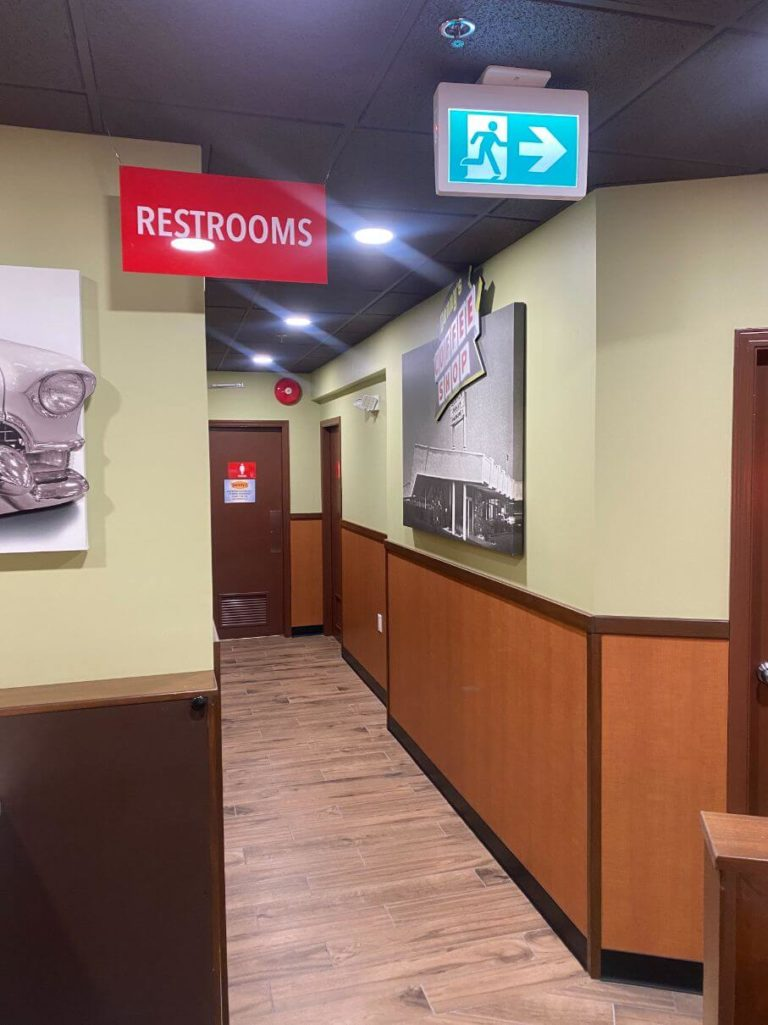 Denny's Interior Upgrade