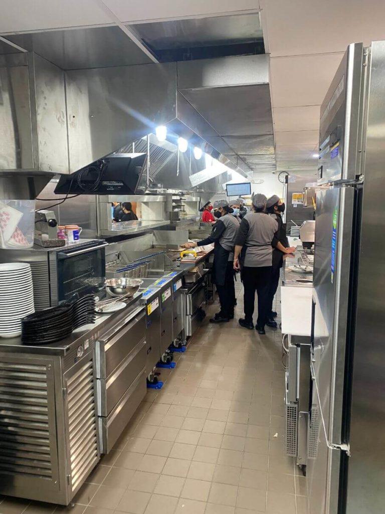 Denny's kitchen