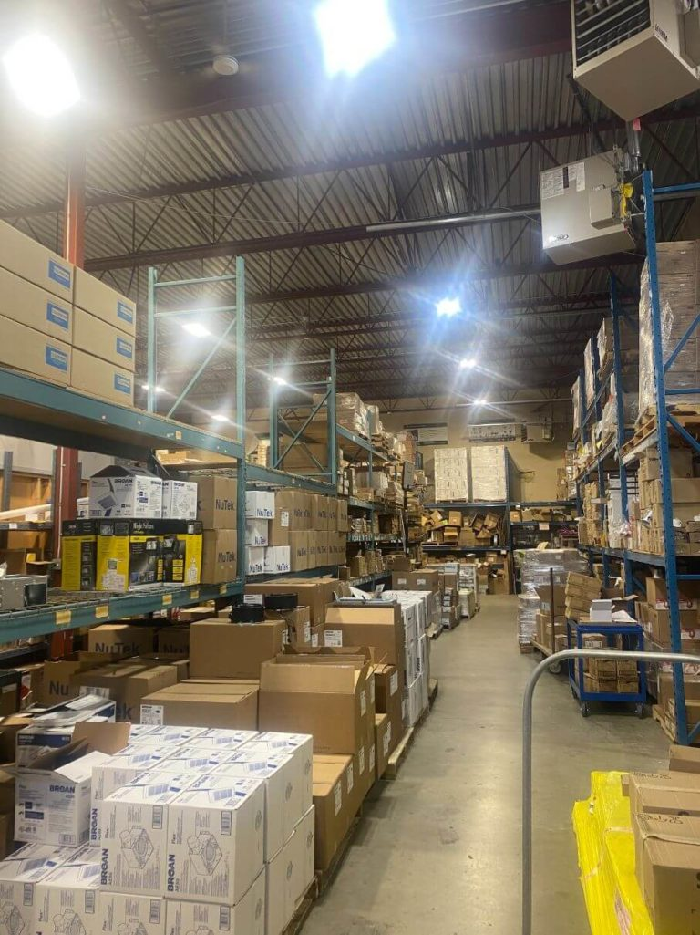 LED Lighting Upgrade Warehouse