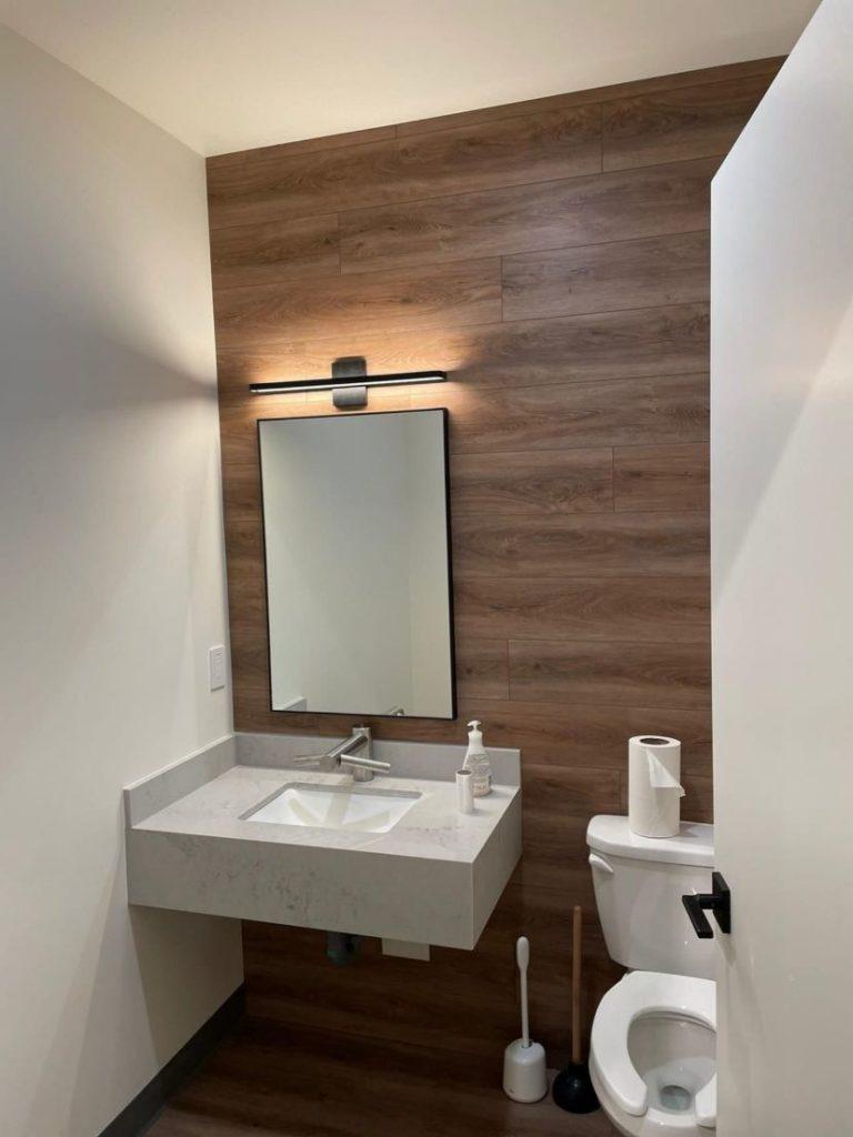 Bathroom electrical upgrade